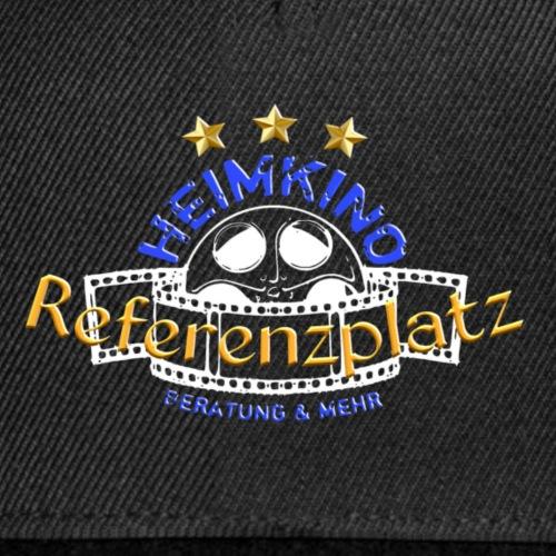 H B M Shop Logo REFERENZ Weiss - Snapback Cap