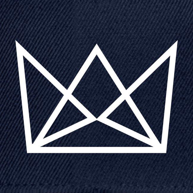 Laune logo kruunu white png
