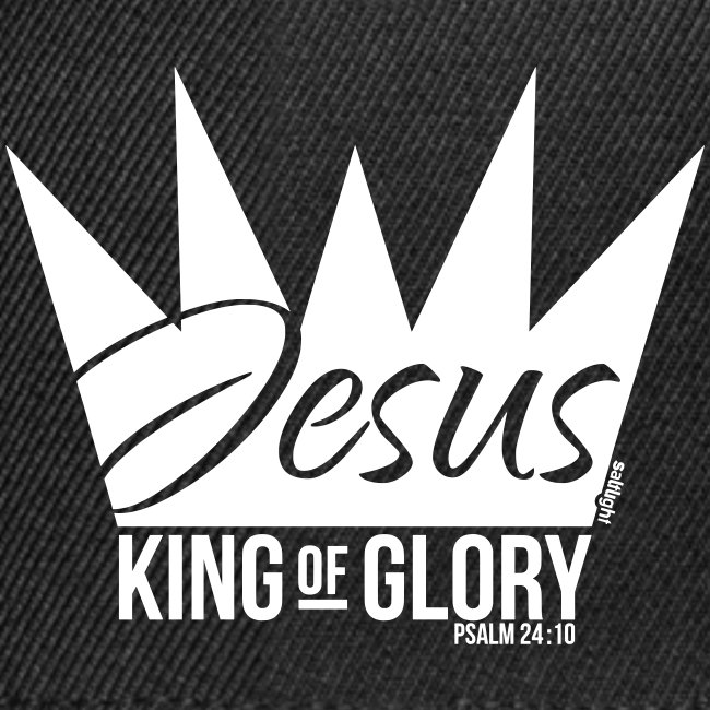 JESUS KING OF GLORY // Psalm 24:10 (WHITE)