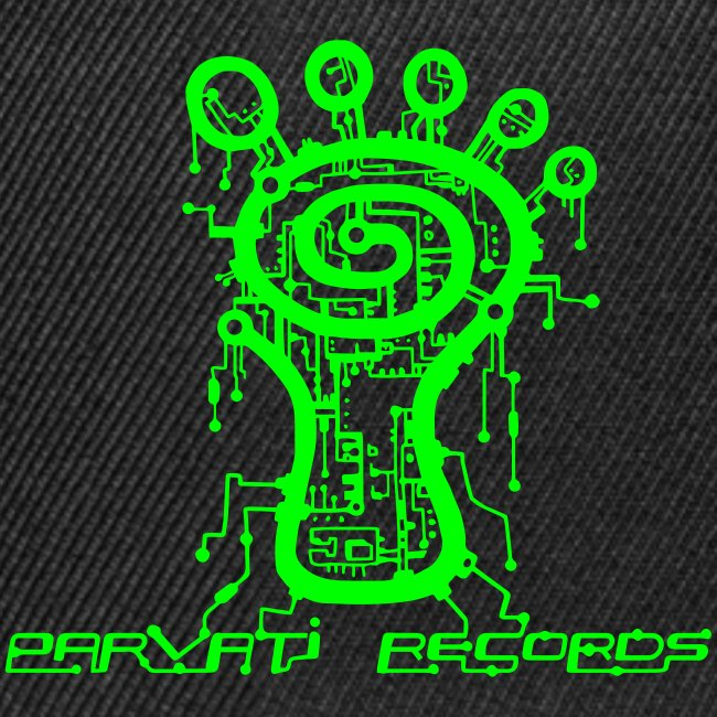 Parvati Records Matrix logo