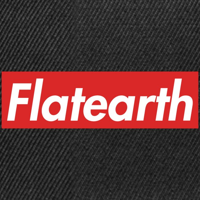 Red Flat Earth Box Logo