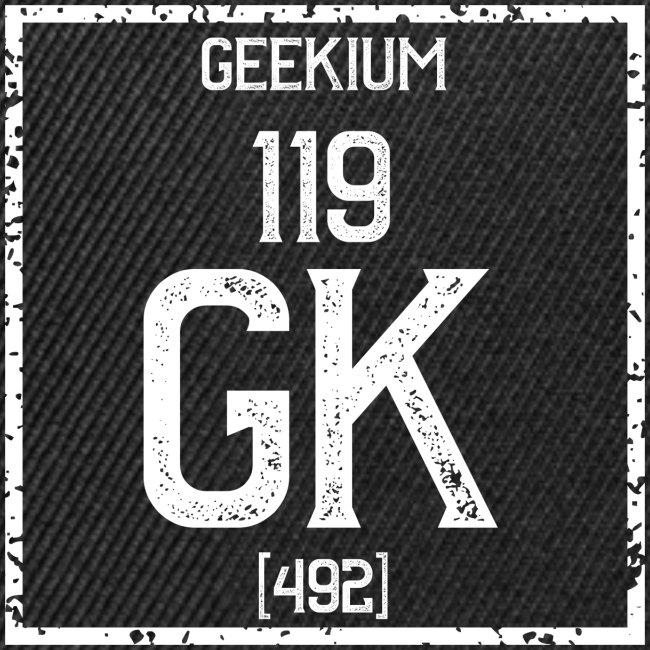 Geekium - blanc