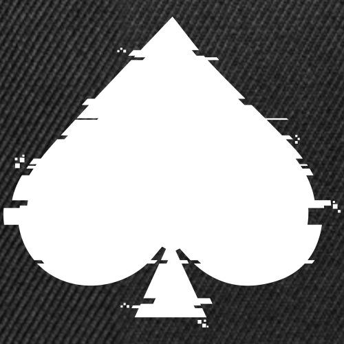 Glitch Spade - Snapback Cap
