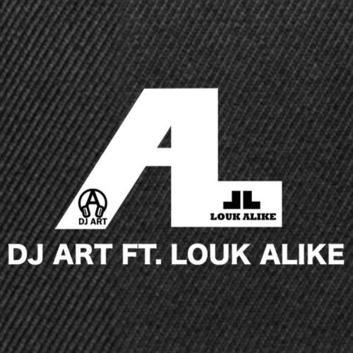 DJ Art ft. Louk Alike (donkere pull-kleuren) - Snapback cap