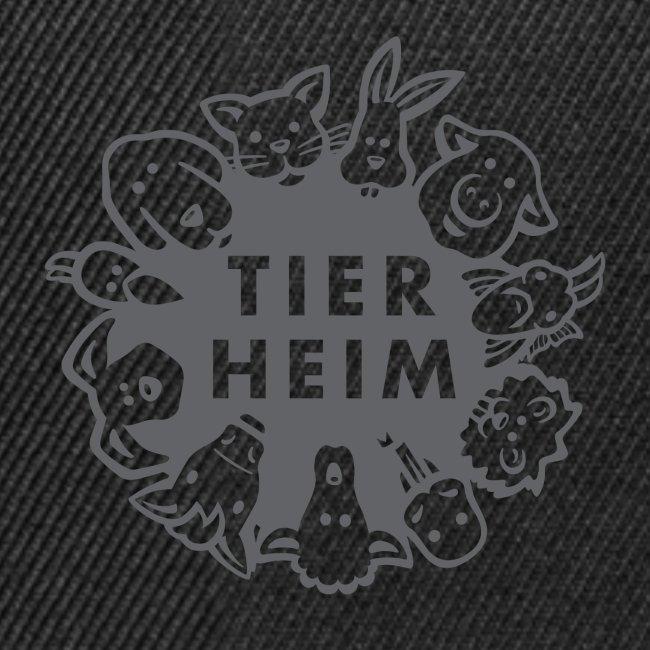 Tierheim Logo gray 75