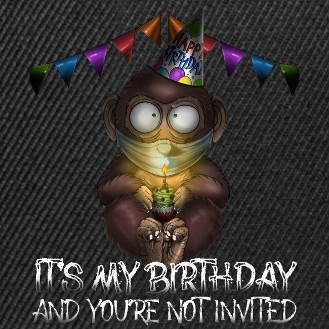 Quarantine Birthday   Monkey Social Distance