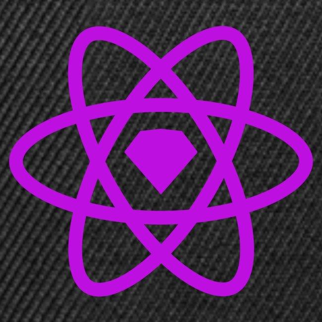 sketch2react logo purple