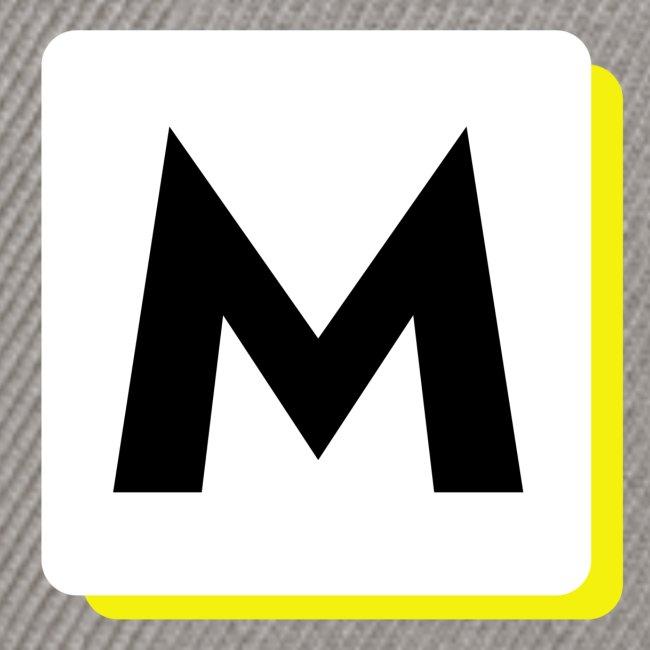 stor logo hvid