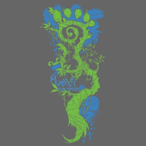 Parvati Records FootMoss logo by Gaoshan Oolong - Snapback Cap