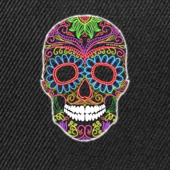 Skull candy neón