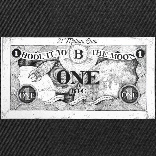 Maglietta Banconota Bitcoin 1