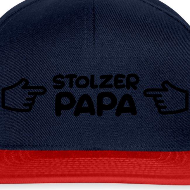 Stolzer Papa
