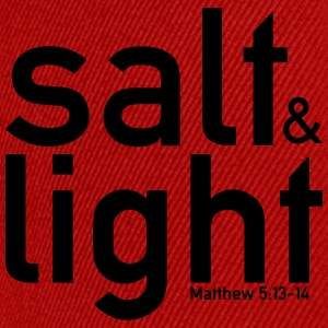 Salt & Light - Matthew 5:13-14 - Snapback Cap