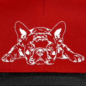 French Bulldog lying - French Bulldog - Snapback Cap