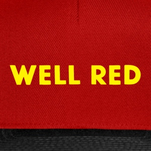 Well Red - Snapback cap