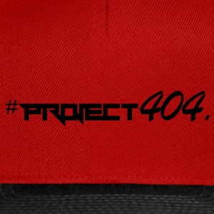Project404 definitief zwart - Snapback cap