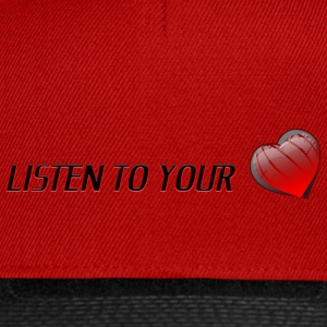 Listen To Your Heart - Snapback-caps