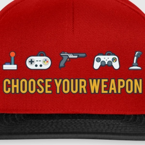 Choose Your Weapon 2 - Snapback Cap