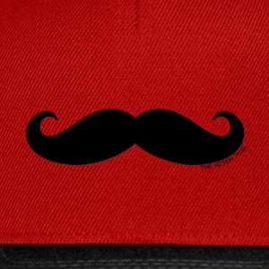 Manly Man Moustache - Snapback Cap