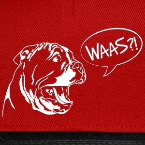 Waas?! - Bulldog Puppy English - Casquette snapback