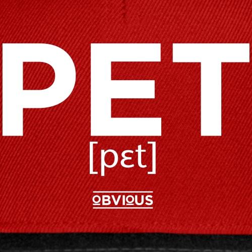 Obvious / Pet Wit - Snapback cap