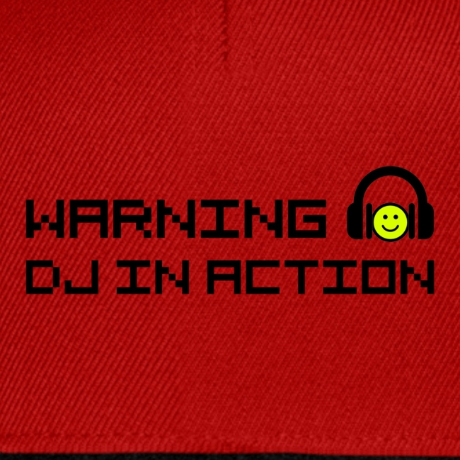 Warning DJ in Action
