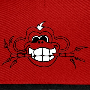 Bambus Monkey whiteteeth - Snapback Cap