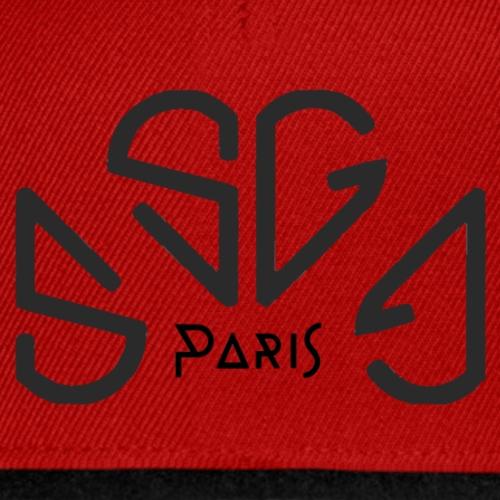 Soni-GanG Paris . Black - Casquette snapback