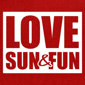Love, Sun & Fun - Snapback-caps