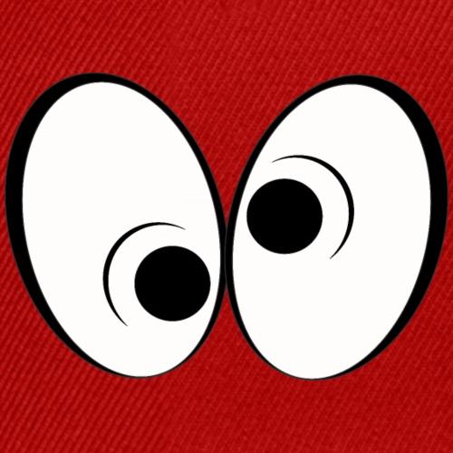 Verrückte Augen   Design Paradise - Snapback Cap