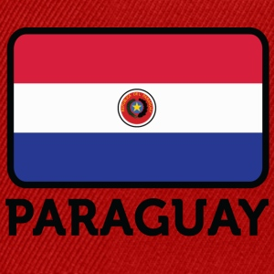 Nationalflagge von Paraguay - Snapback Cap