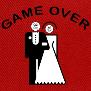Game Over Just Married - Casquette snapback