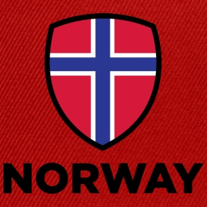 National Flag Of Norway - Snapback Cap