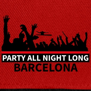 BARCELLONA Party All Night Long - Snapback Cap