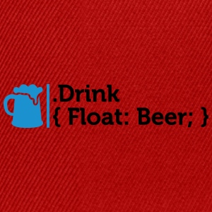 CSS Jokes - Drink Beer! - Snapback Cap