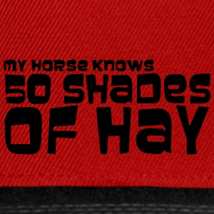 my_horse_knows_50_shades - Snapback Cap