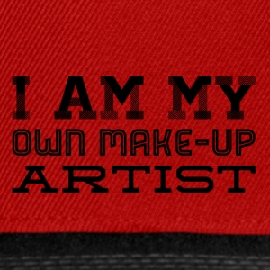 I am my own make up artist - Snapback Cap