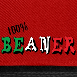100% mexicaine Beaner - Casquette snapback