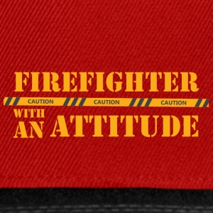 Fire Department: Firefighter with an Attitude - Snapback Cap