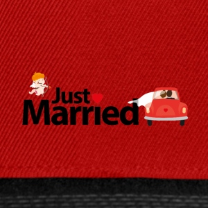 Just Married - Snapback Cap
