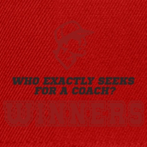 Coach / Trainer: Who exactly seeks for a coach? - Snapback Cap