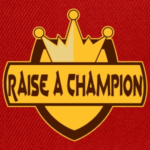 Raise_a_champion - Snapback-caps