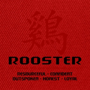 Year of The Rooster - Snapback Cap