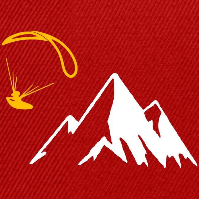 Libert'All parapente montagne jaune