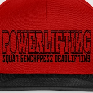 simple POWERLIFTING - Snapback Cap