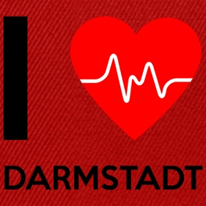 J'aime Darmstadt - I love Darmstadt - Casquette snapback