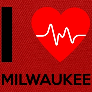 I Love Milwaukee - Ich liebe Milwaukee - Snapback Cap