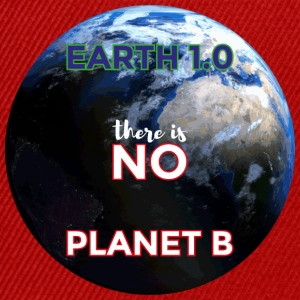 Earth 1.0 - det er ingen Planet B - Snapback-caps