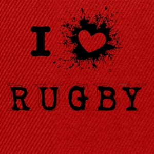 iLove Rugby - Snapback Cap