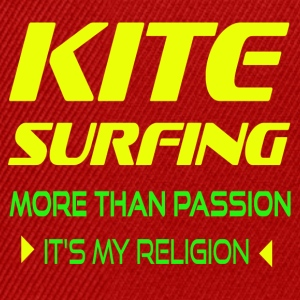 KITEBOARD PLUS DE PASSION - ITS MY RELIGION - Casquette snapback